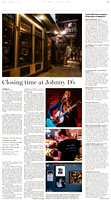 """Closing time at Johnny D's,"" The Boston Globe"