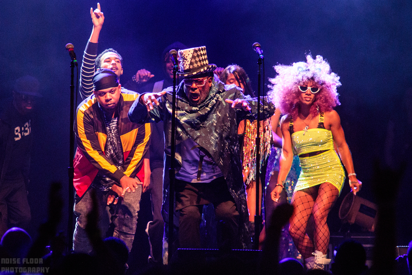 Noise Floor Photography: 2019/06/05 - George Clinton and Parliament Funkadelic &emdash;