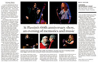"""At Passim's 60th anniversary show, an evening of memories and music,"" The Boston Globe"